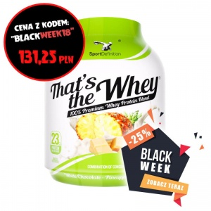 Sport Definition That's the Whey 2270g >>> BLACK WEEK 2018!!!