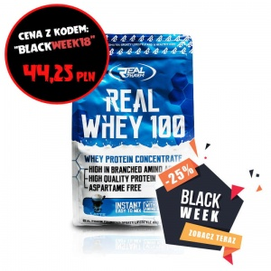 Real Whey 100 - 700g >>> BLACK WEEK 2018!!!