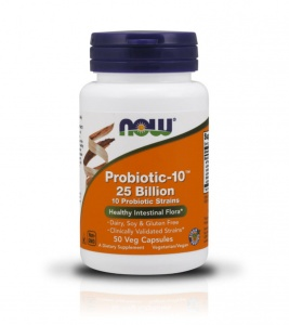 Now Foods Probiotic-10 25 Billion 50 veg caps