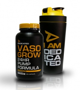 DEDICATED Vaso Grow 250 KAPS + Metal Shaker 739ml Gratis!