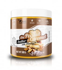 Masło Orzchowe Sport Definition That's the Peanut Butter & Caramel 500g