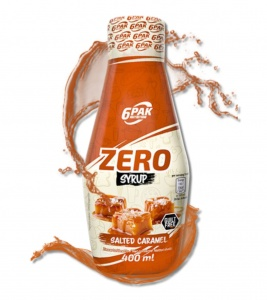 Syrop 6PAK Nutrition Syrup ZERO