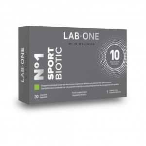 Lab One  Sportbiotic 30 kapsułek
