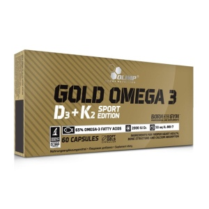 Olimp Gold Omega 3 D3 + K2 Sport Edition 60caps