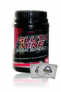 Trec Glutamine High Speed 500g + KOD RABATOWY 10% + 2 PRÓBKI!