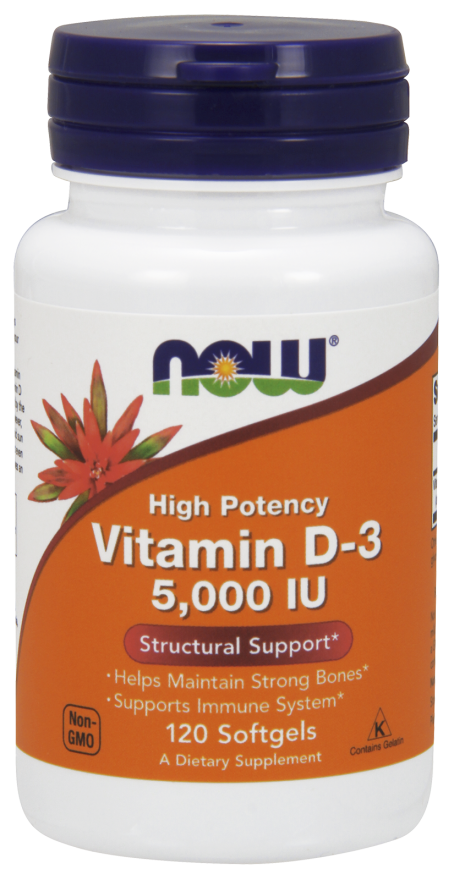 Now Vitamin D3