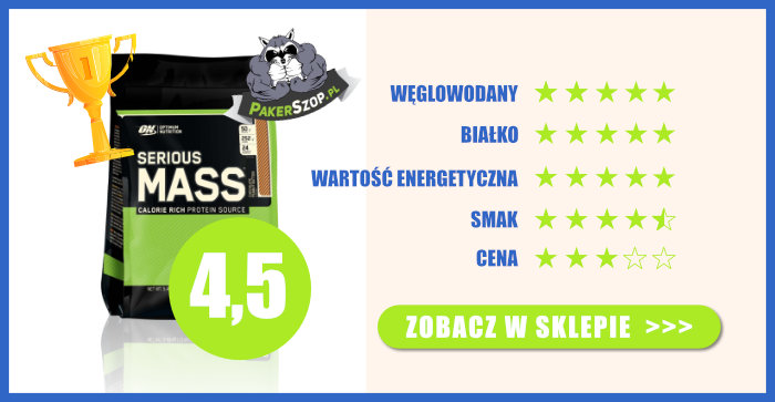 Ranking Gainerów - 1 Miejsce - Optimum Nutrition Serious Mass