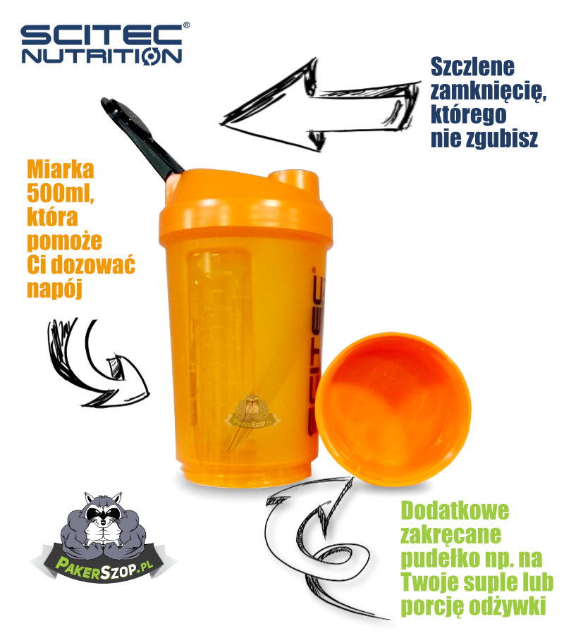 Shaker Scitec Nutrition 500ml